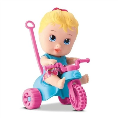 Boneca My Little Dolls Playground Triciclo Menina