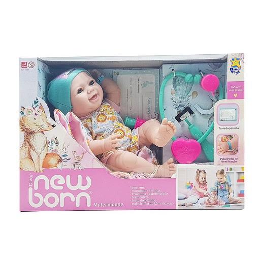 Boneca New Born - Maternidade Divertoys