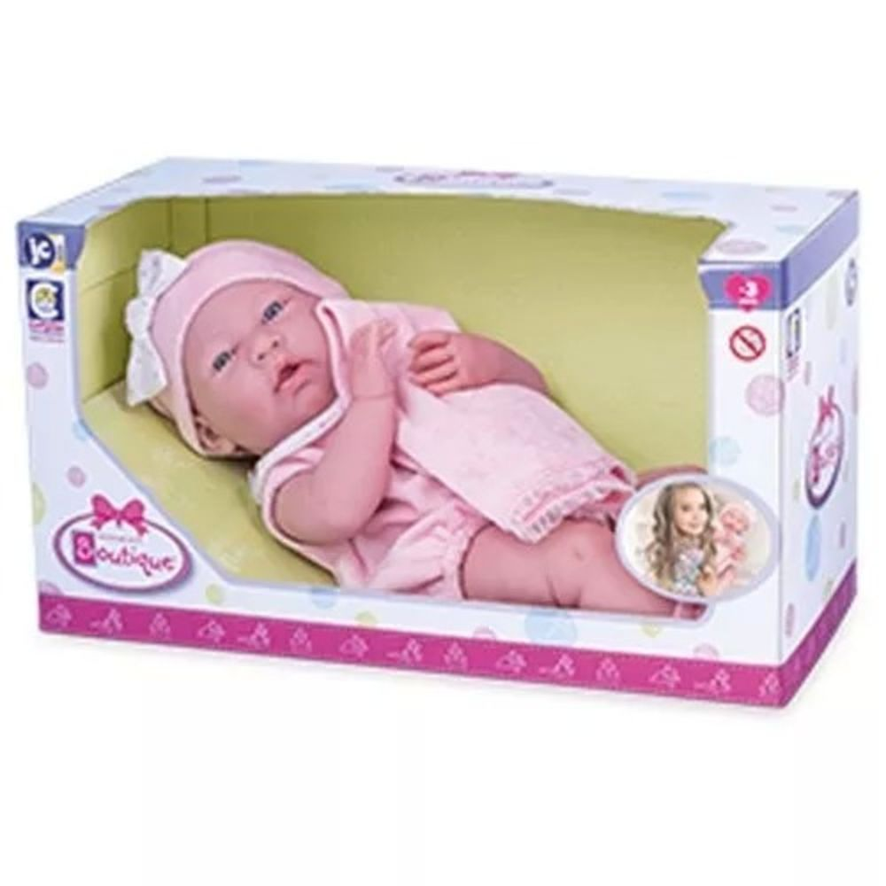 Boneca Newborn Baby Ninos Boutique Berenguer