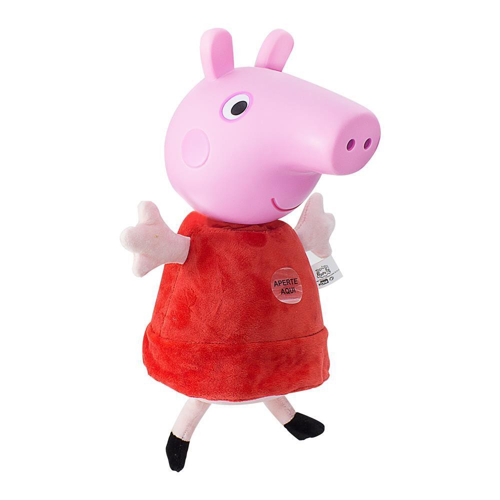 Boneca Peppa Pig Com Som