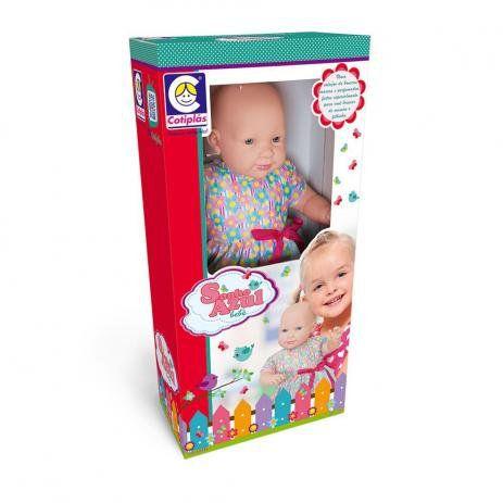 Boneca Sonho Azul Bebê