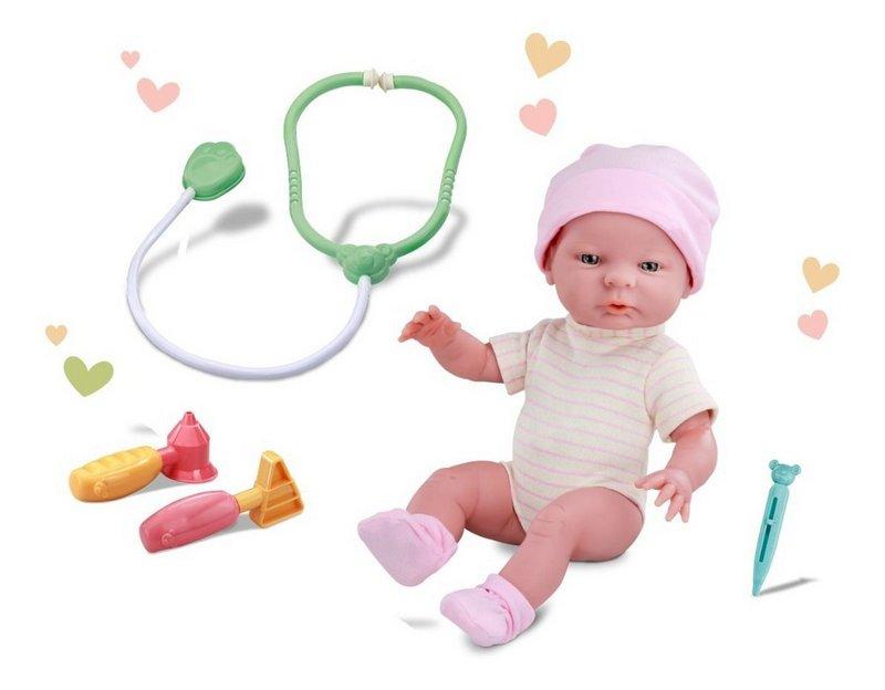 Boneca Visita ao Pediatra
