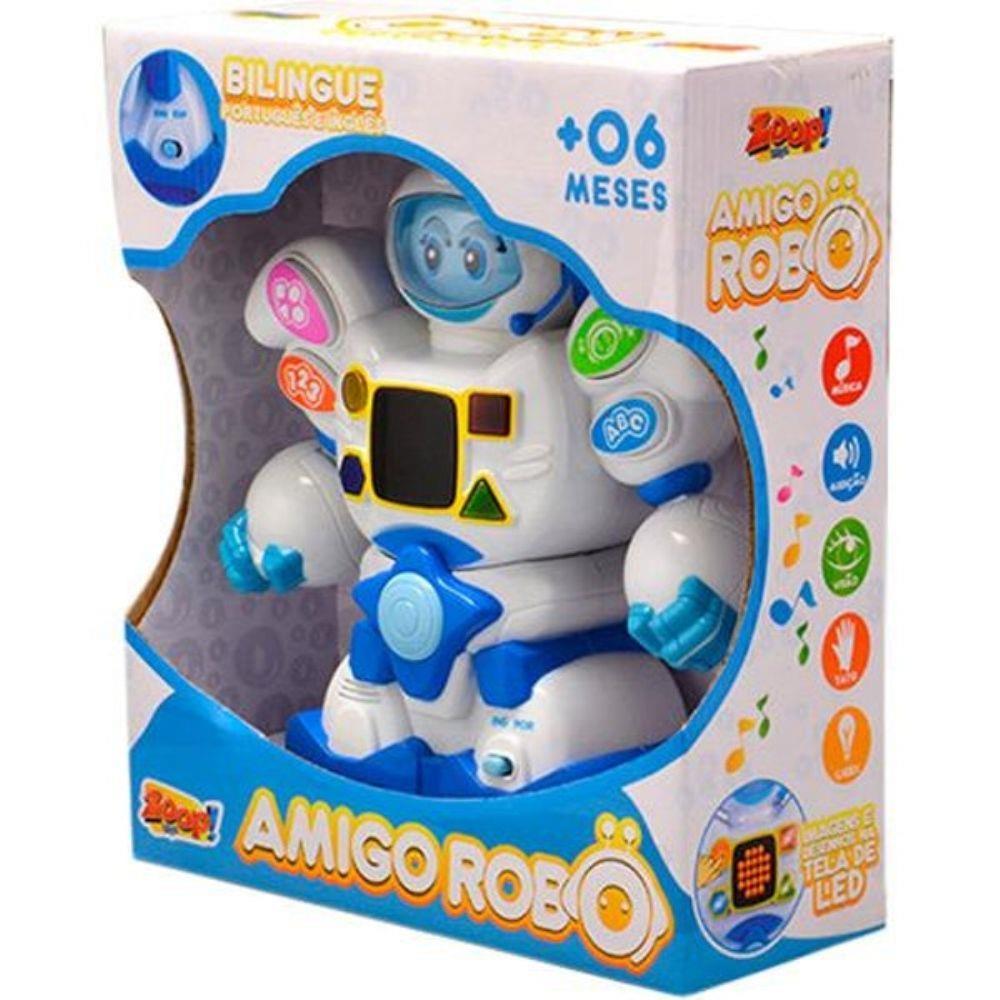Boneco Amigo Robô Zoop