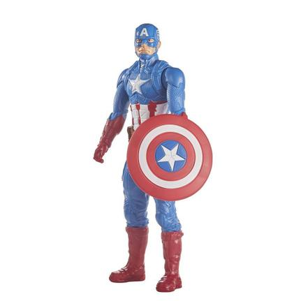 Boneco Articulado Avengers Capitão América Blast Gear