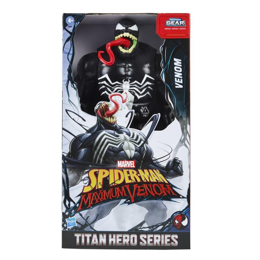 Boneco Spiderman Venom Hero Titan