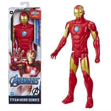 Boneco Vingadores Titan Hero Blast Gear Homem De Ferro