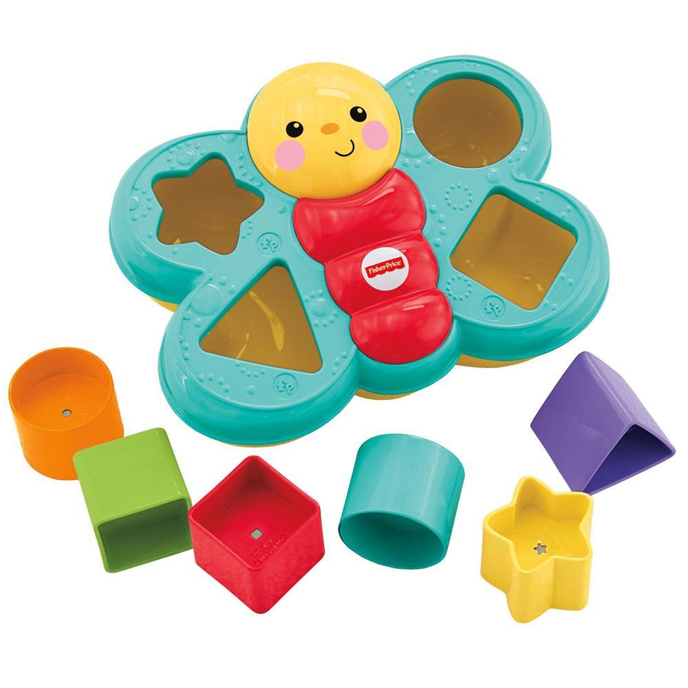 Brinquedo de Encaixar Borboleta