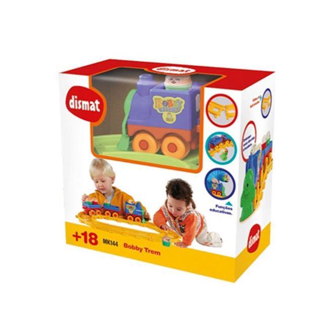 Brinquedo Educativo Bobby Trem