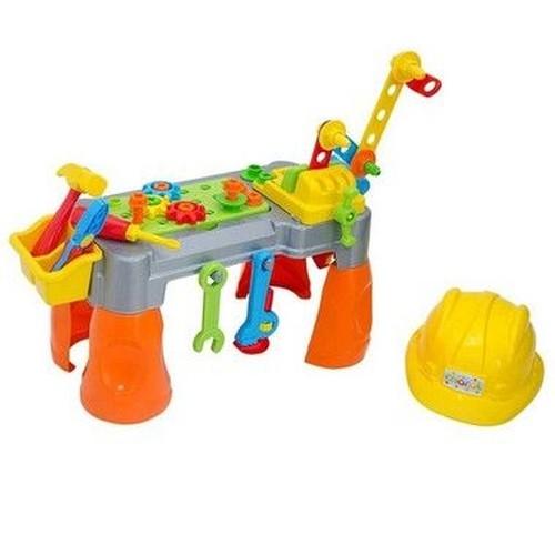 Brinquedo Educativo Didático Bancadinha de Ferramentas