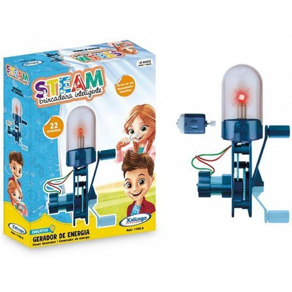 Brinquedo Educativo Steam Gerador de Energia