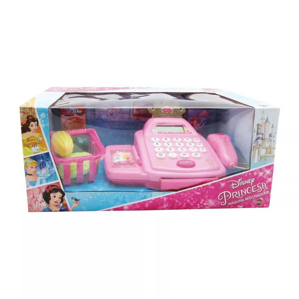 Caixa Registradora - Mercadinho - Princesas Disney