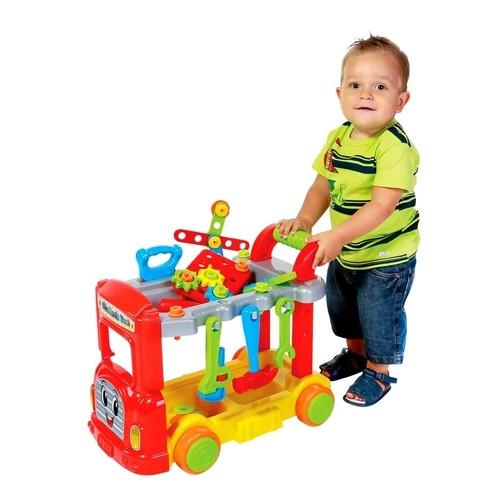 Caminhão De Ferramentas Infantil Mechanic Truck - Maral