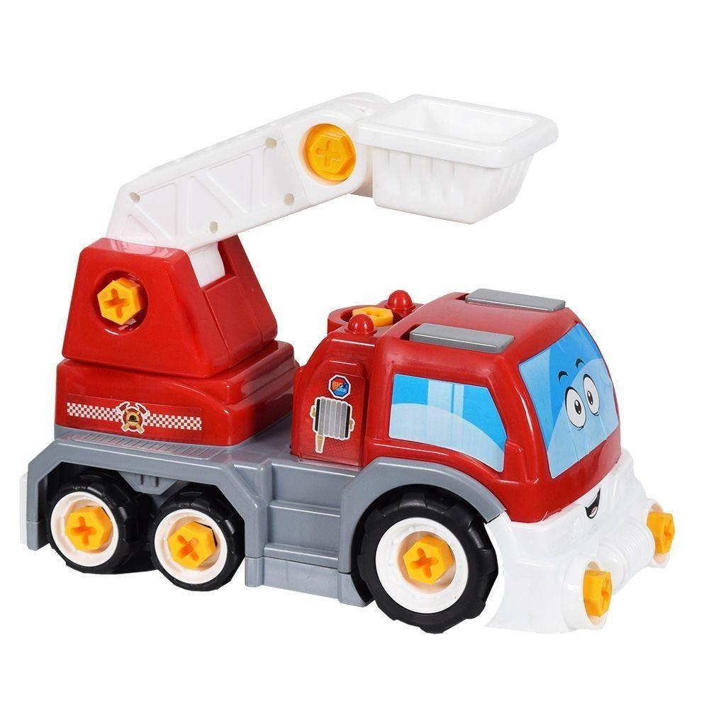 Caminhão Infantil Big X Truck Bombeiro