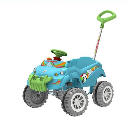 Carrinho Smart de Passeio e Pedal  Baby Cross - Azul - Bandeirante