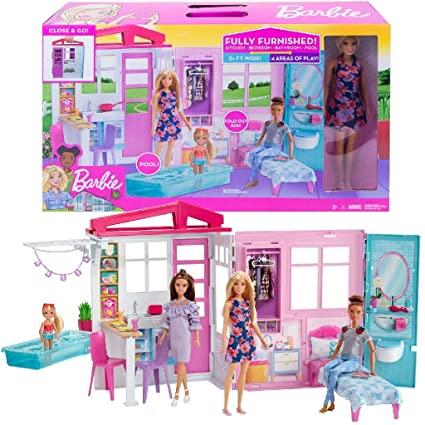 Casa da Barbie Glam com Boneca