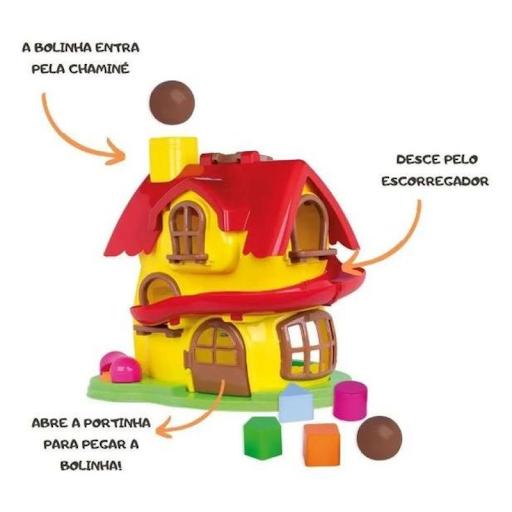 Casa Da Masha E O Urso Atividade Didática