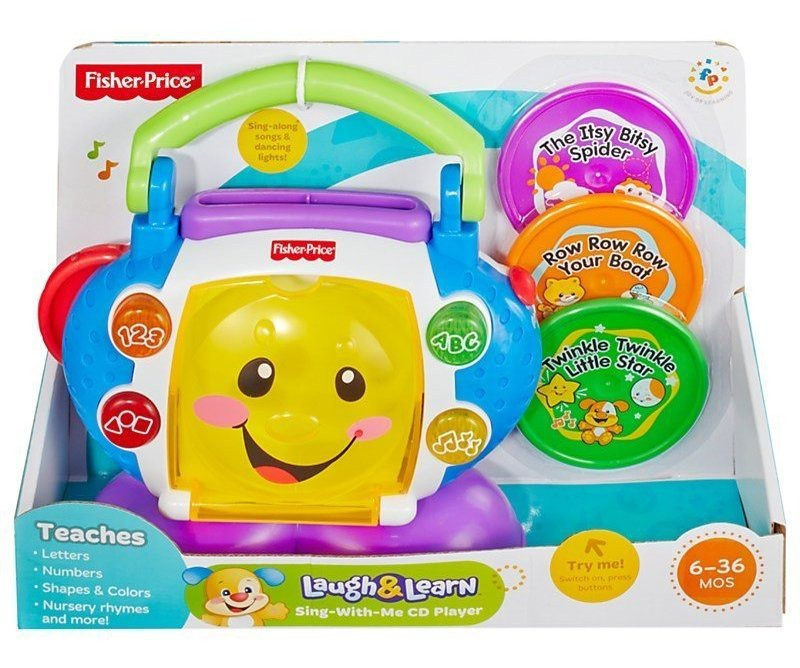 Cd Player Aprender E Brincar Fisher-Price