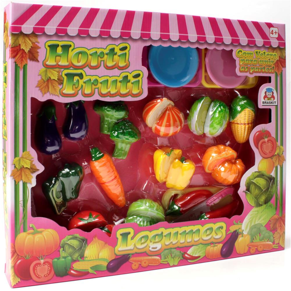 Coleção Horti Fruti Braskit Legumes