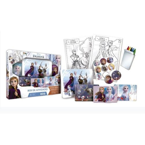 Conjunto de Atividades - Disney - Frozen 2 - Copag