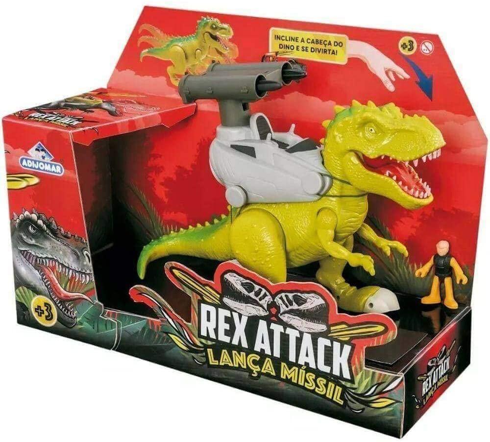 Dinossauro Rex Attack Lança Missil