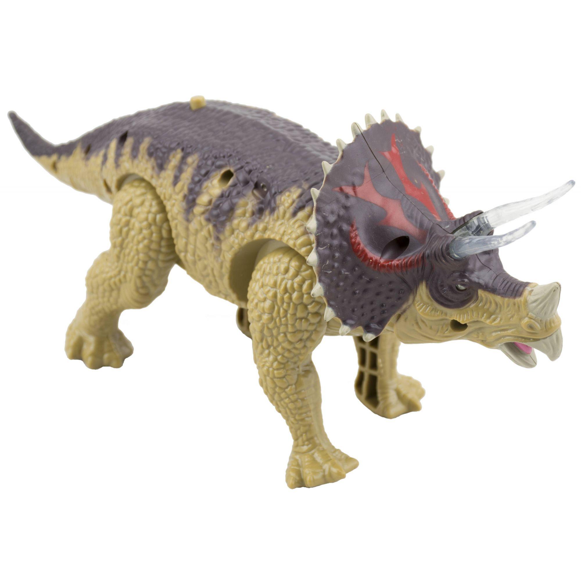 Dinossauro Triceraptos  Com Som e Movimento