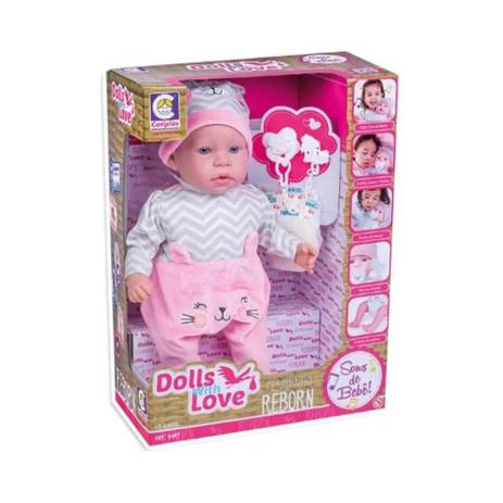 Dolls With Love Reborn - Cotiplás