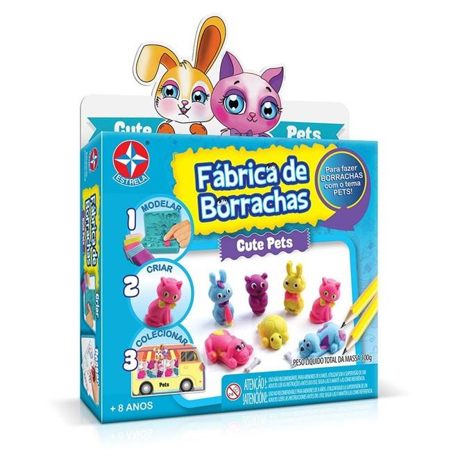 Fábrica de Borrachas Cute Pets - Estrela
