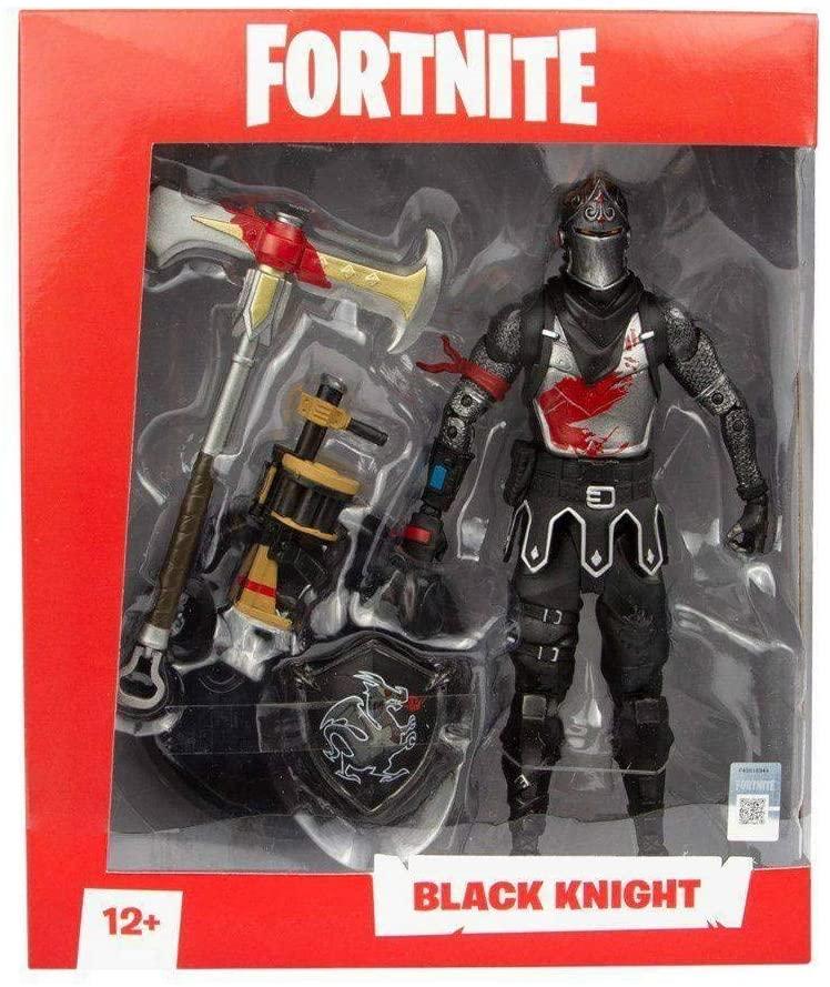 Figura de Ação com Acessórios - 17 Cm - Fortnite - Black Knight