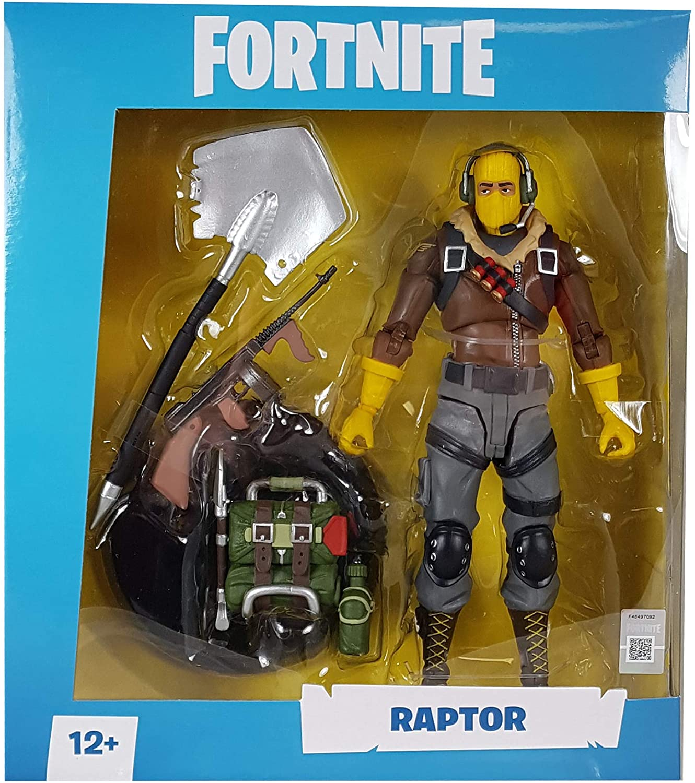 Figura de Ação Fortnite McFarlane Raptor