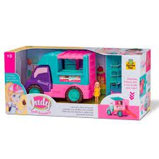 Food Truck Sorveteria Judy Com Boneca - Samba Toys