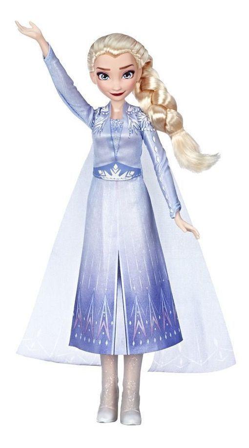 Frozen 2 Nova Boneca Elza Musical