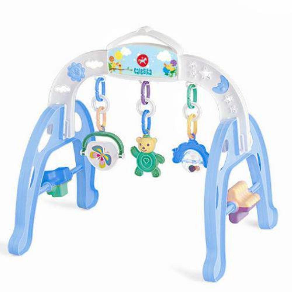 Ginásio de Atividades azul- Baby Gym - Calesita
