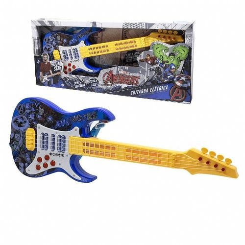 Guitarra Elétrica Infantil Vingadores