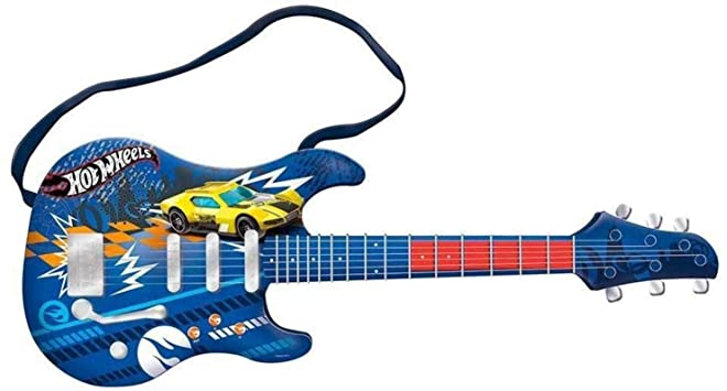 Guitarra Infantil Hot Wheels