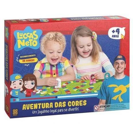 Jogo Aventura das Cores Luccas Neto