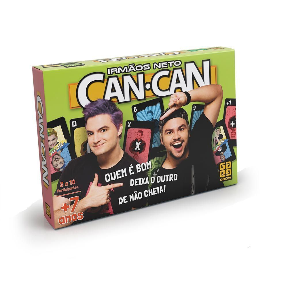 Jogo Can Can - Irmãos Neto - Grow