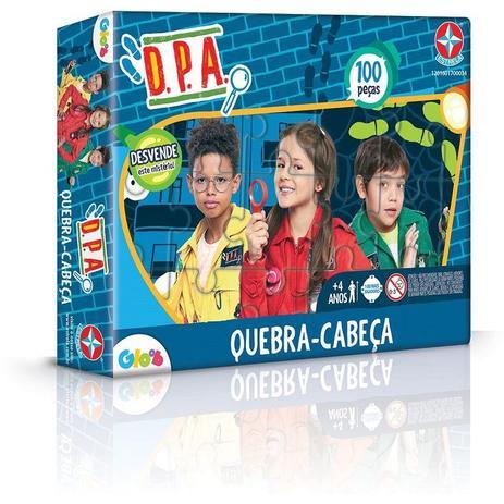 Jogo De Quebra-Cabeça DPA 100 Peças