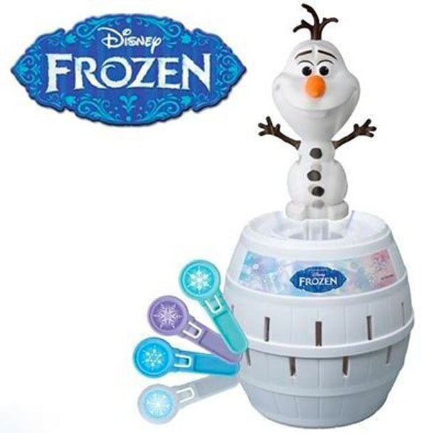 Jogo Pula Olaf - Frozen