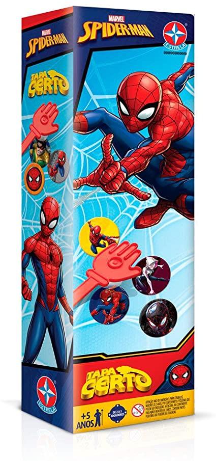 Jogo Tapa Certo Spiderman