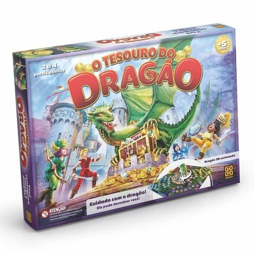 JOGO TESOURO DO DRAGÃO - GROW