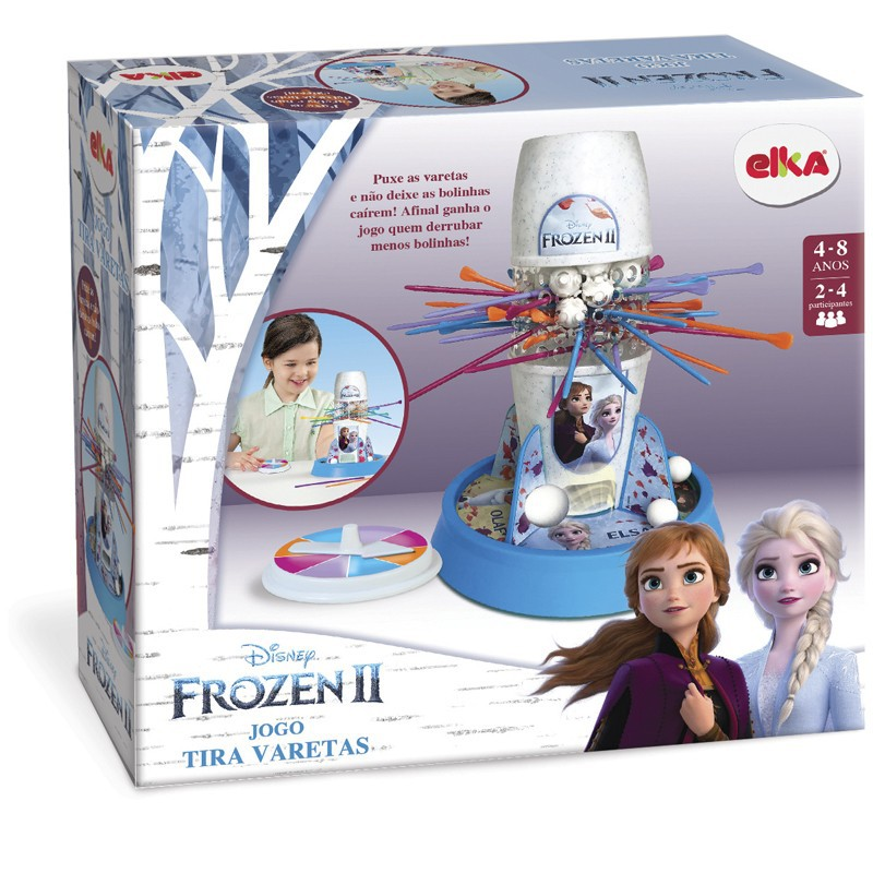 Jogo Tira Varetas - Frozen 2