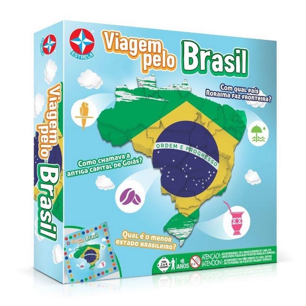 Jogo - Viagem Pelo Brasil