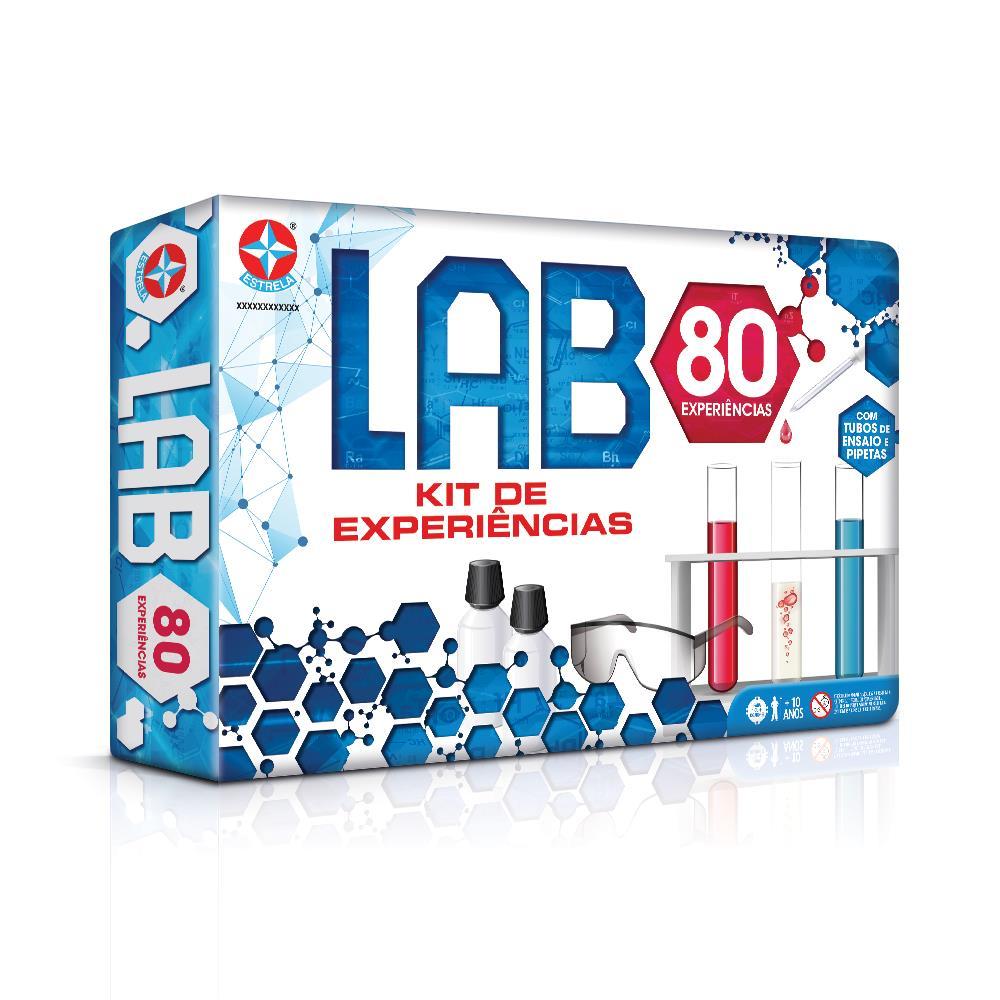 Kit de Experiências - Jogo LAB - Estrela