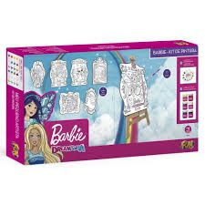 Kit De Pintura - Barbie