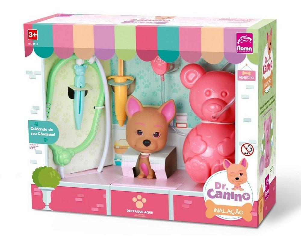 Kit Médico Dr. Canino Inalação - Roma Brinquedos