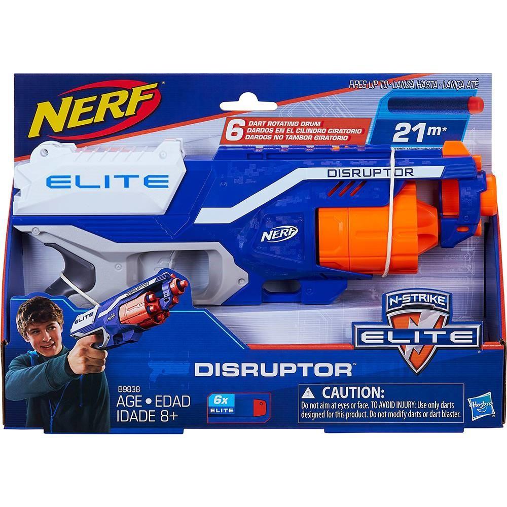 Lança Dardo Nerf Elite Disruptor