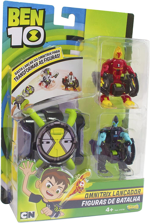 Lançador de Figuras - Omnitrix - Ben 10