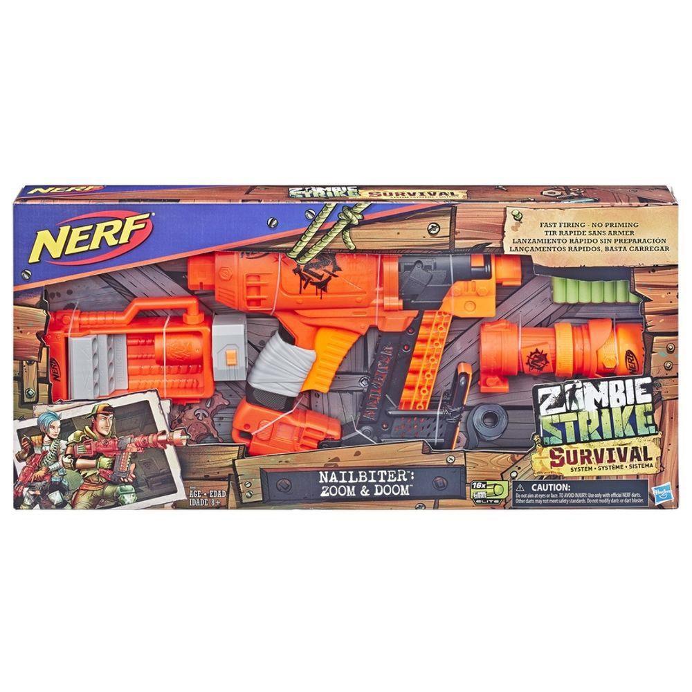 Lançador Nerf Zombie Strike Nailbitte
