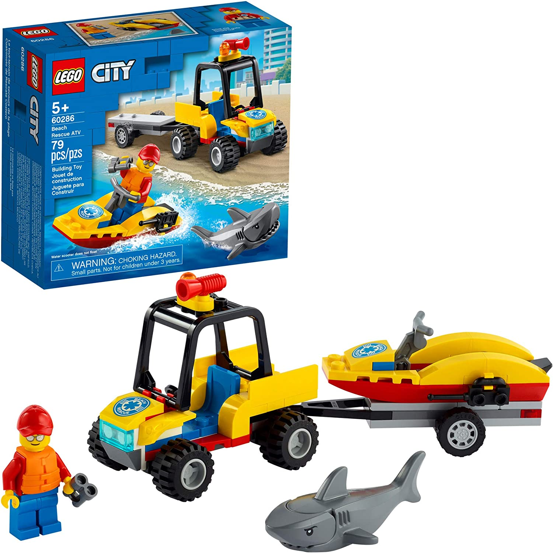 Lego City - Off-Road de Resgate Na Praia