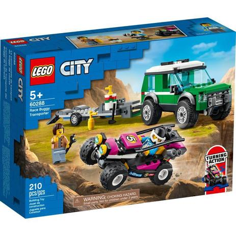 LEGO City - Transportador De Buggy De Corrida